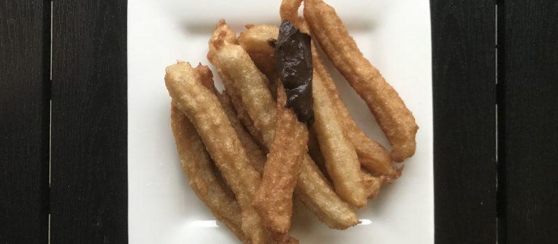 churros z czekoladą